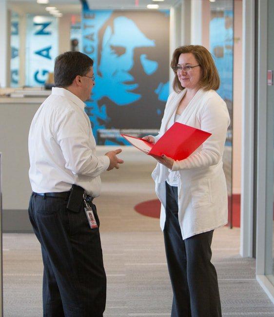 Staff at Emergent BioSolutions