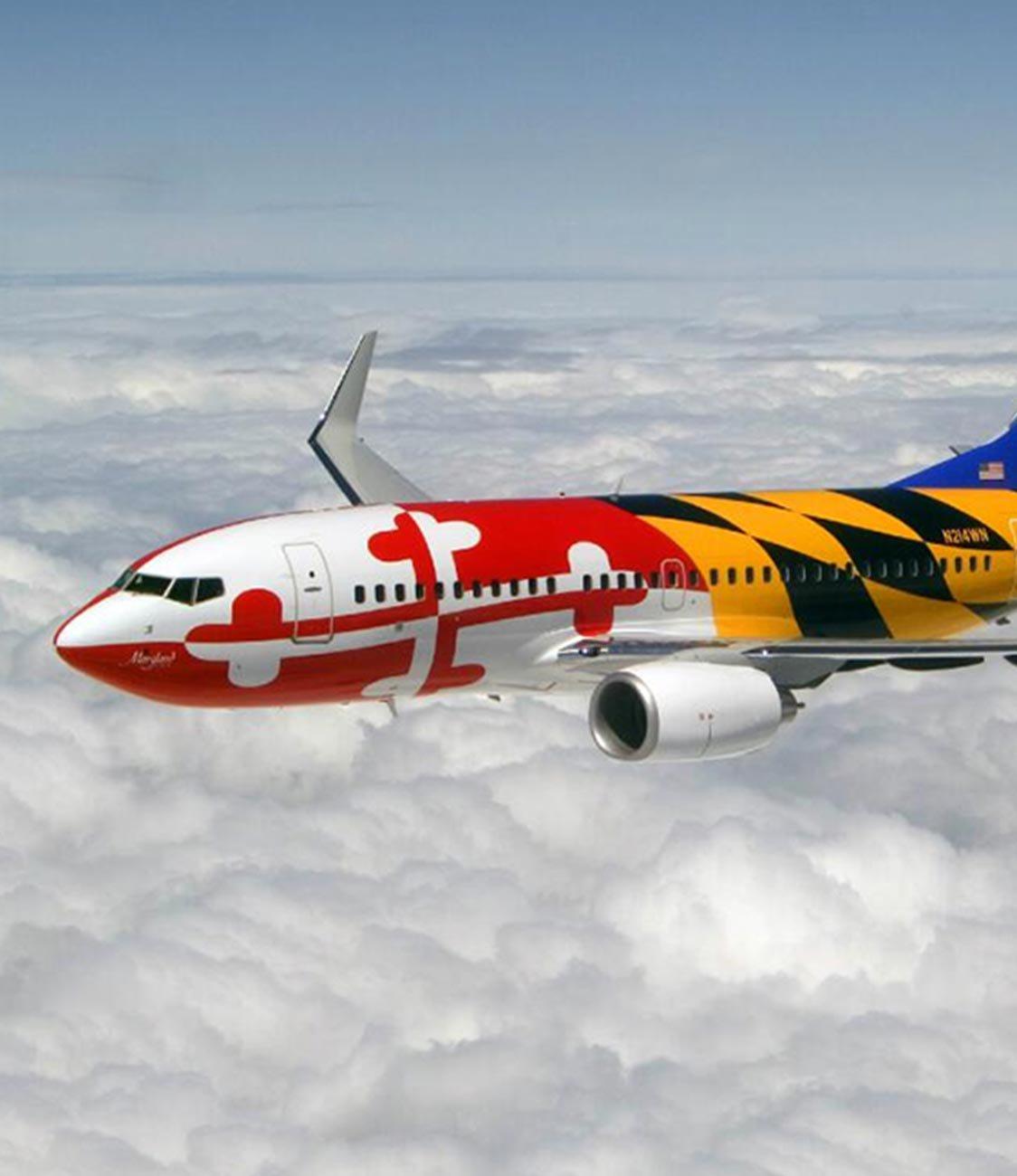 Maryland plane