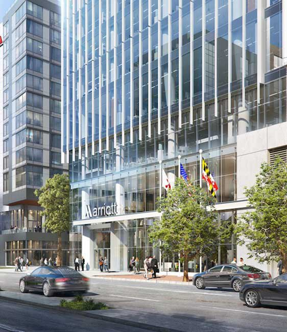 New Marriott Headquarters Rendering