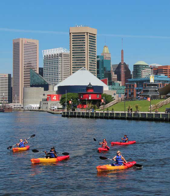 Maryland kayaking